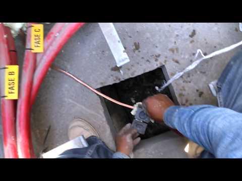 Ase corto y muere electricista fe cfe