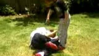 Aida vs bekim (My sister smashed me)
