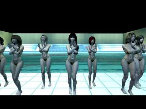 Skyrim. Dance Synchronizator 3.7. Cellphone Paranoia Girl.