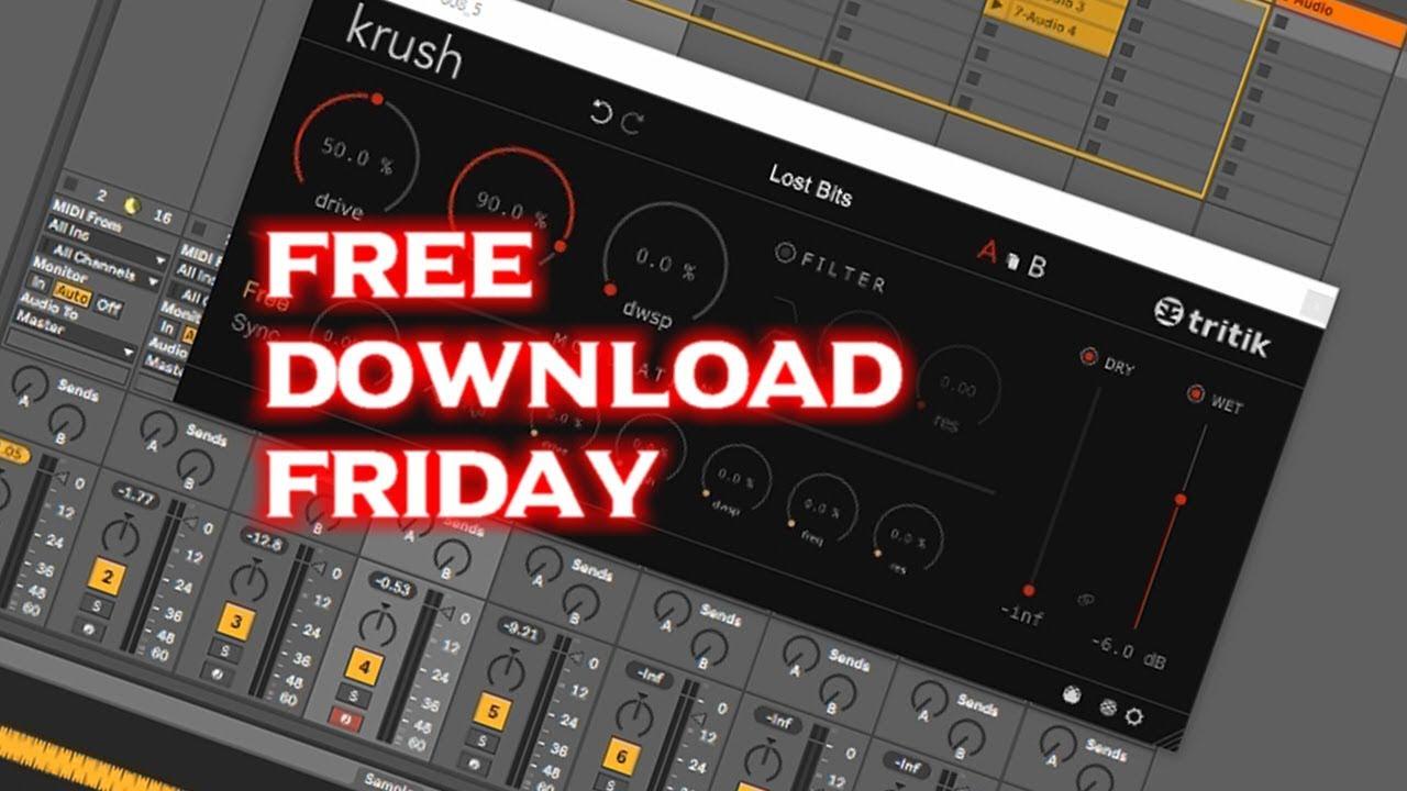 Free Download Friday | Tritik Krush Bitcrusher VST/AU Plugin | Win/Mac
