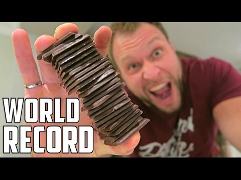 Most After Eight Chocolates Eaten in One Minute (Guinness World Records)