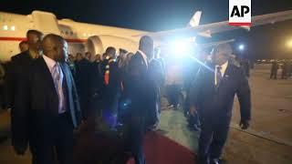Mnangagwa returns to Harare to address crisis