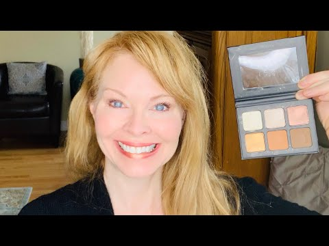 Clove And Hallow, Sunrise Eyeshadow Palette Review And Demo | Over 40 Beauty | Green Beauty