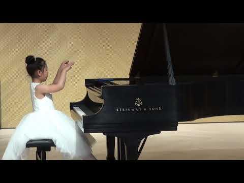 2018 CMC 8 Years Old Elizabeth Chen plays Children Suites by Shostakovich