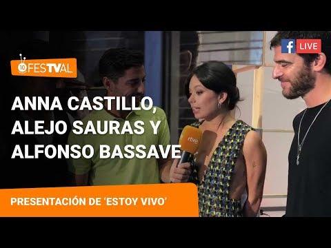 Anna Castillo, Alejo Sauras y Alfonso Bassave  Segunda temporada de 'Estoy Vivo' en FesTVal