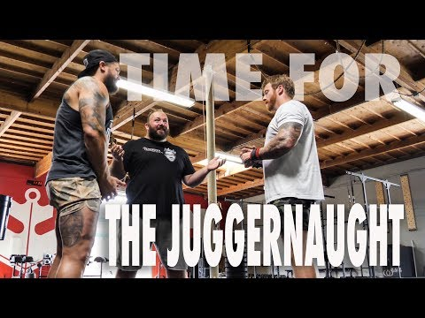 TIME FOR THE JUGGERNAUGHT - HANGING WITH...