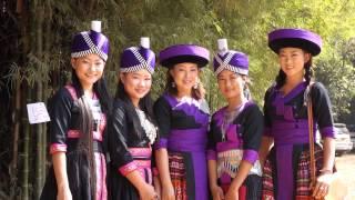Hmong New Year near Nam Ngum River, Vientiane, Laos