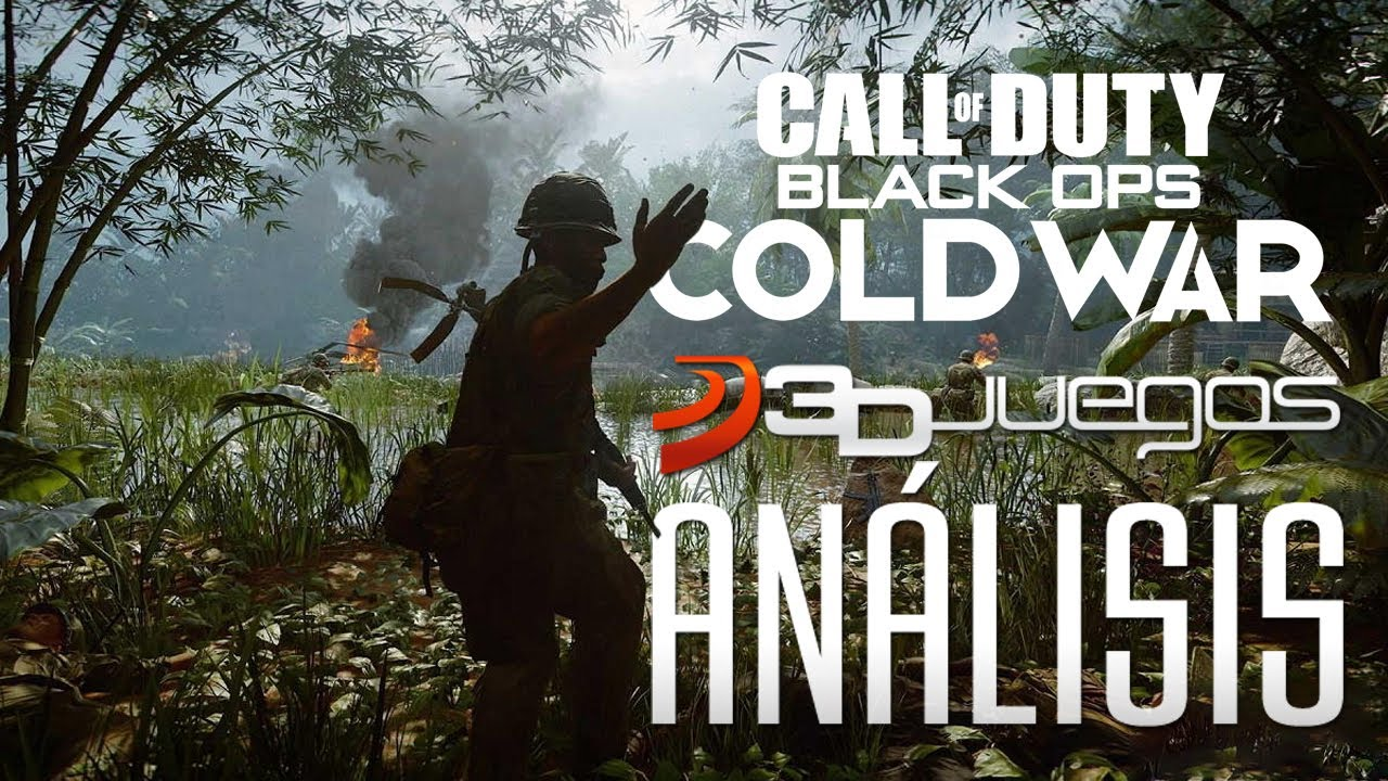 CALL OF DUTY: BLACK OPS COLD WAR ANÁLISIS: VIDEOREVIEW del nuevo SHOOTER BÉLICO de la SAGA COD