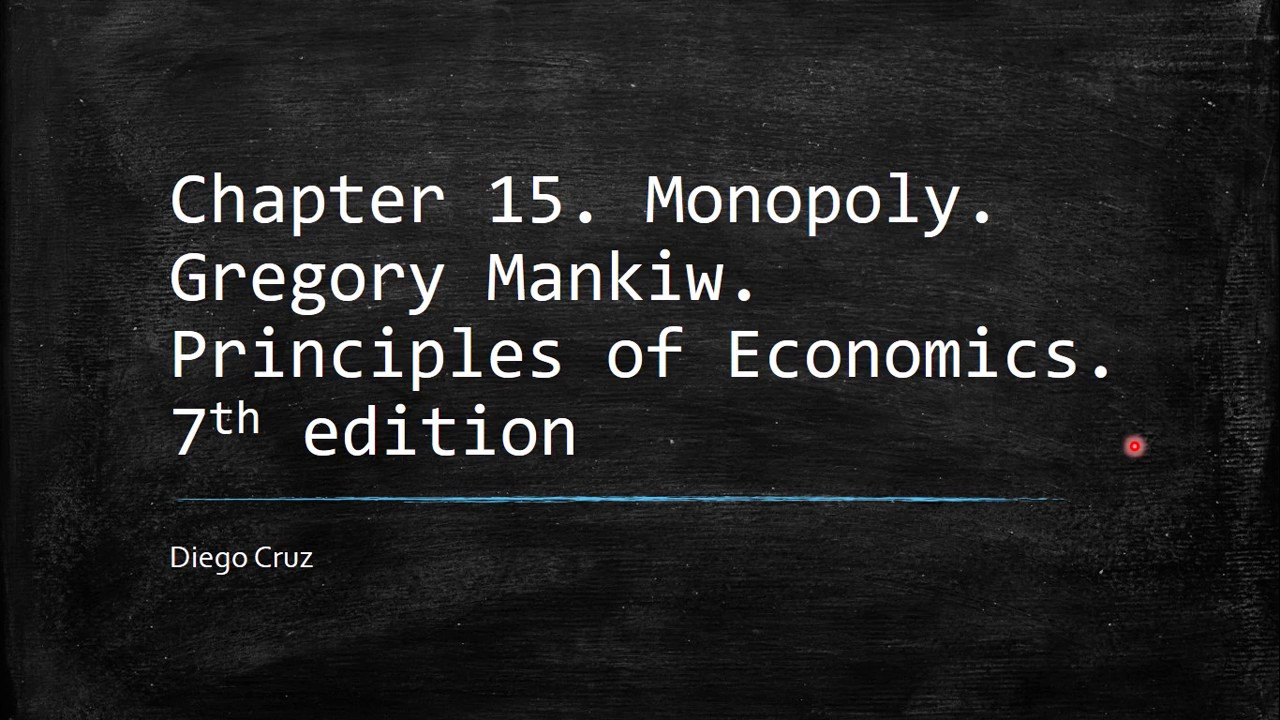 principles of economics understanding monopoly Monopoly this is an introductory principles of economics course firm and household as well as the development of rudimentary understanding of economic.