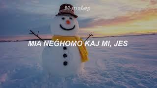 Snowman – Sia | Kantoteksto tradukita al Esperanto