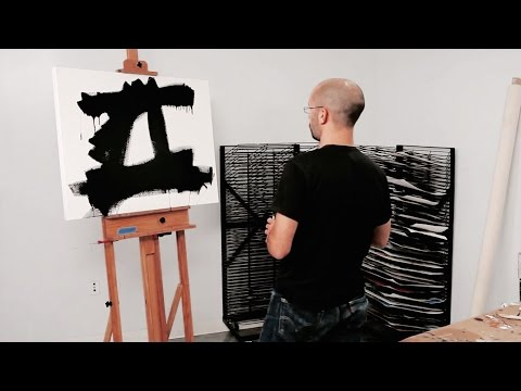 How to paint like Franz Kline – Chief (1950) | IN THE STUDIO