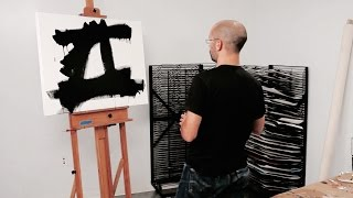 How to paint like Franz Kline  Chief 1950  IN THE STUDIO