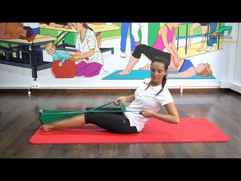 Ejercicio para potenciar abdominales y oblicuos - Método Pilates Barcelona