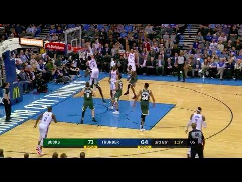 Russell Westbrook Best Dunk of 2017-18 NBA Season