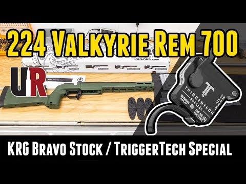 224 Valkyrie Remington 700 Build P6: KRG Bravo Stock, TriggerTech