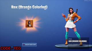 "*NEW* UNLOCKING ROX ""Orange Clothing"" Outfit on Fortnite Battle Royale Season 9"