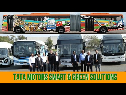 TATA MOTORS VISION OF FUTURE MOBILITY - HYBRID,FUEL CELL BUS,MINI TRUCKS-LAUNCHED-JAN 2017