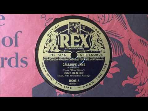 "Elsie Carlisle - ""Calliope Jane"" (1941)"