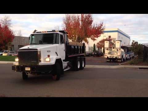1991 Volvo Autocar Dump Truck for sale, Ex-City Unit, Only 56k Original Miles trucksite.com ...