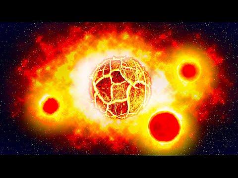 A Newfound Planet Has Three Suns