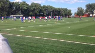 Chelsea Fc Training At Montreal