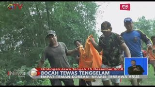 Naas! Jenazah Bocah Asal Grobogan Ditemukan Tersangkut Pohon Bambu di Pinggiran Sungai - BIS 16/12