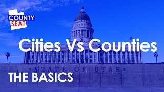 "What is the difference between a county and city? does everyone live in city, or do some reside ""communities""? find out all about betwe..."