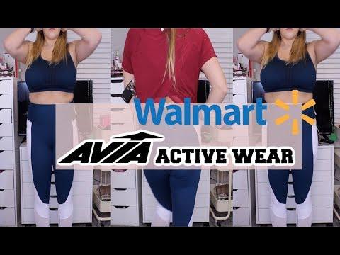 walmart-haul-//-activewear-review-//-avia-brand