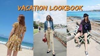 Vacation Lookbook   度假穿搭   Bondi Beach 悉尼  Sarahs look