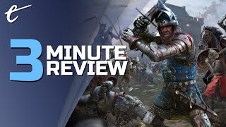 Chivalry 2 | Review in 3 Minutes (Video Game Video Review)