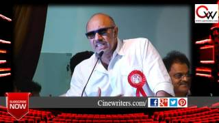 Actor Sathyaraj explains why he support Vishal
