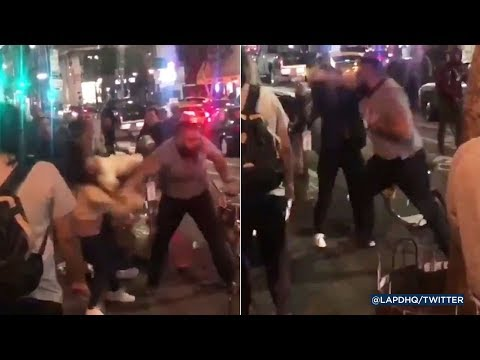 J. Cortez - SHOCKING: Man Punches 2 Women in Los Angeles. Police Searching For Him