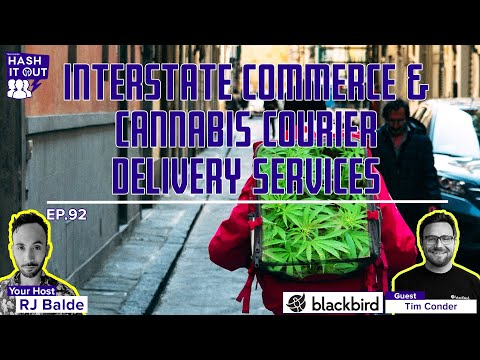 Interstate Commerce & Cannabis Courier Delivery Services