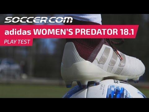 new styles e6462 4ad8e adidas Women s Predator 18.1   Play Test Review
