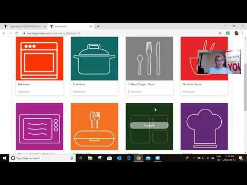 Navigate The My.Tupperware Website