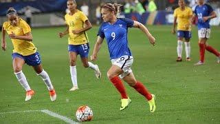 Féminines, amical : France - Brésil Féminines (1-1), le résumé