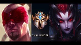 Leesin jungle vs Elise jungle  challenger - LEESIN Đi Rừng Hiệu Quả cao