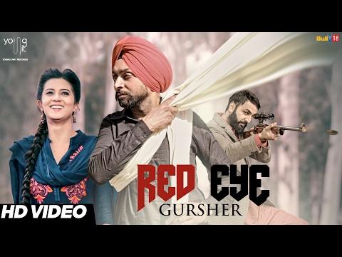 Red Eye - Gursher | R Guru | Latest  Punjabi Songs 2017 |  Young Unit Records