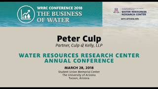 WATER TRANSACTIONS: COMPLEXITIES – WRRC Conference 2018