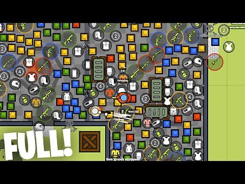 *WORLD RECORD* 100% LOOT FILLED STATION IN SURVIV.IO!