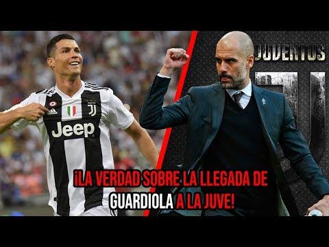 La verdad sobre la llegada de Pep Guardiola a la Juventus