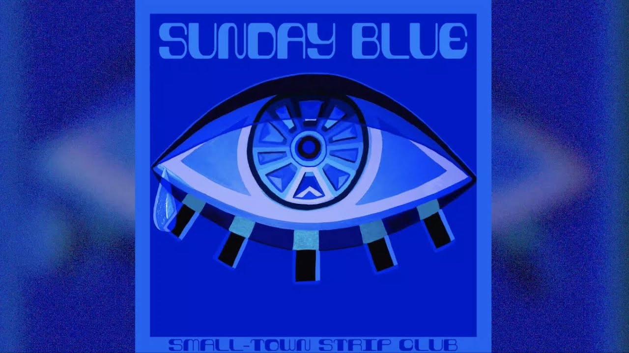 "🔹BEHIND The Creative Process🔹 | ft. artwork for @Small Town Strip Club's latest single ""Sunday Blue"""