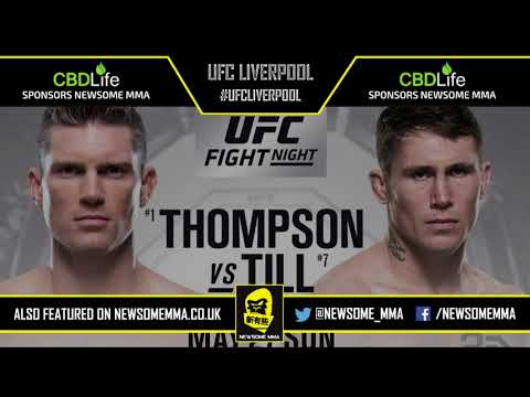 UFC Liverpool predictions, breakdowns and bets hosted by Newsome MMA & Ryan
