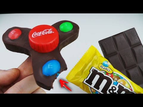 Thumbnail: 3 Awesome Life Hacks or Toys. Edible Fidget Spinner