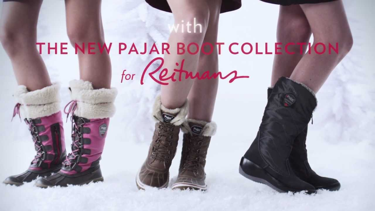 pajar for reitmans boot collection youtube