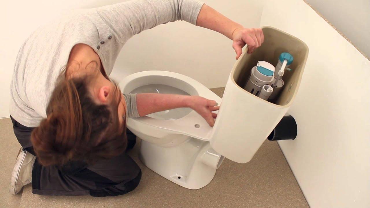 Stand Wc Mit Spülkasten Villeroy Boch montageanleitung fur toilettenschussel und spulkasten