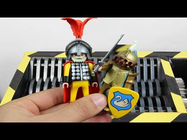 ??????????? Shredding Playmobil | The Crusher