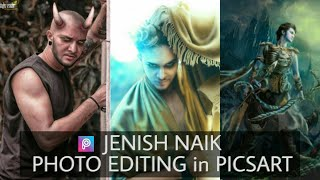 JENISH NAIK PHOTO EDITING | PICSART JENISH NAIK EDITING | JENISH NAIK