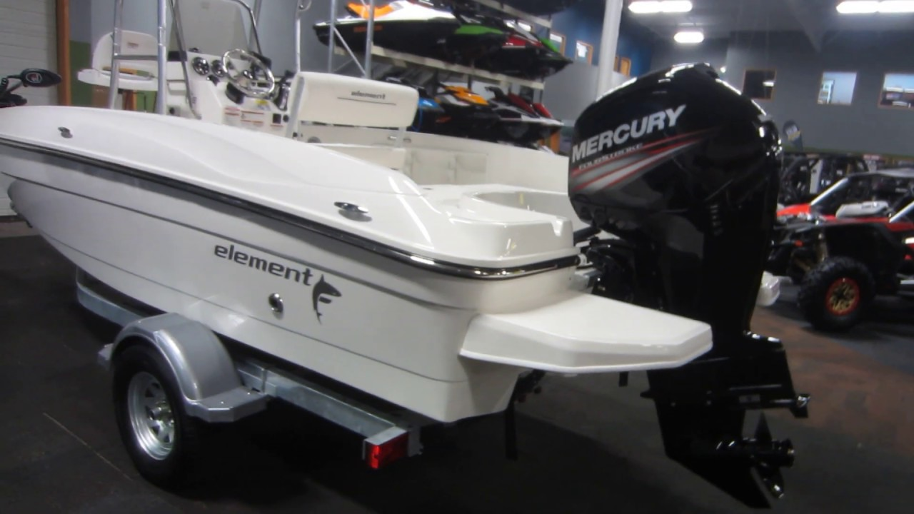 2019 Bayliner Element F18 NNB061 - StrongCity YouTube Video