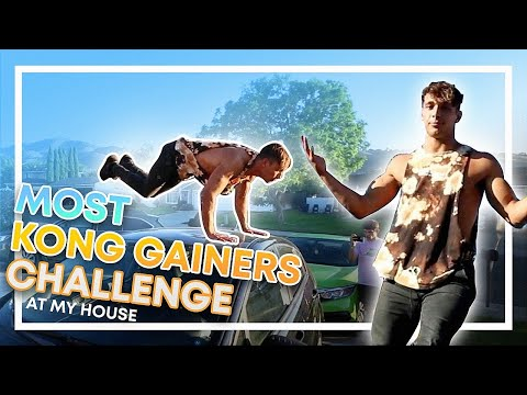 MOST KONG GAINERS AT MY HOUSE CHALLENGE